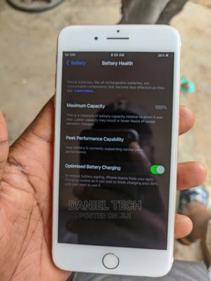 Apple iPhone 7 Plus 128 GB Silver   Mobile Phones for sale in Lagos State, Ejigbo