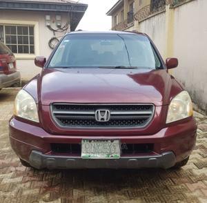 Honda Pilot 2004 Red   Cars for sale in Lagos State, Ikorodu