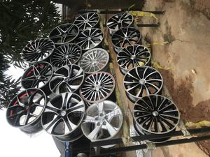 New Alloy Rims and New Tires Available | Vehicle Parts & Accessories for sale in Lagos State, Ipaja