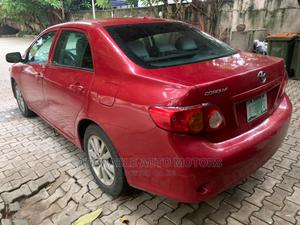 Toyota Corolla 2010 Red | Cars for sale in Lagos State, Victoria Island