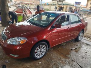 Toyota Corolla 2007 LE Red   Cars for sale in Abuja (FCT) State, Kubwa