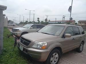 Honda Pilot 2004 Gold | Cars for sale in Lagos State, Ikeja