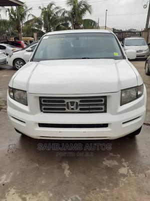 Honda Ridgeline 2008 RTL White | Cars for sale in Lagos State, Isolo