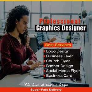 Professional Graphics Designer With Super-fast Delivery   Computer & IT Services for sale in Lagos State, Alimosho