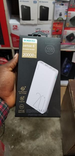 Romoss Sense6 20,000mah Power Bank   Accessories for Mobile Phones & Tablets for sale in Lagos State, Ikeja