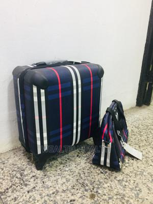 2 in 1 Quality Hardcase Trolley Blue Bag | Bags for sale in Lagos State, Ikeja