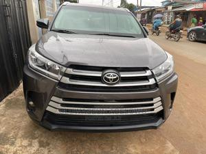 Toyota Highlander 2017 Gray | Cars for sale in Lagos State, Abule Egba