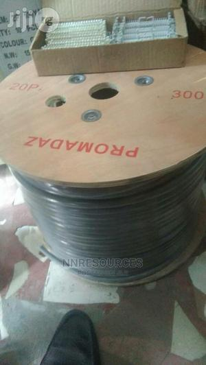 20 Pair Intercom Cable 300 Meters | Electrical Equipment for sale in Lagos State, Ikeja
