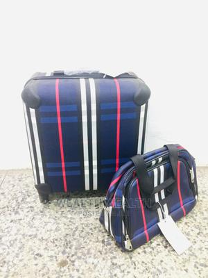 Dazzling Short Trolley Luggage Blue Bag | Bags for sale in Lagos State, Ikeja