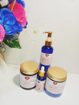 Organic Body Cream, Scrub, Face Cream Black Soap | Bath & Body for sale in Lagos State, Ojo