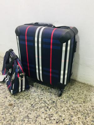 Short Designed Trolley Luggage Blue Bag | Bags for sale in Lagos State, Ikeja