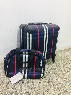 Short Imported Trolley Luggage Blue Bag | Bags for sale in Lagos State, Ikeja