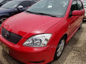 Toyota Corolla 2003 Sedan Automatic Red | Cars for sale in Kaduna State, Kaduna / Kaduna State