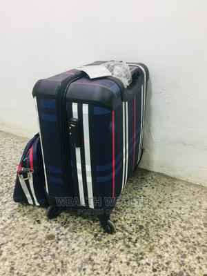 Affordable Zippered Trolley 2 Set Blue Luggage Bag | Bags for sale in Lagos State, Ikeja