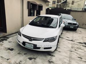 Honda Civic 2007 1.8 Sedan LX Automatic White | Cars for sale in Lagos State, Ikeja