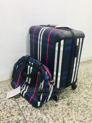 Excellent Short Trolley Blue Luggage Bag | Bags for sale in Lagos State, Ikeja
