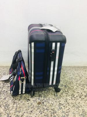 Carry on Short Trolley Luggage Blue Bag | Bags for sale in Lagos State, Ikeja