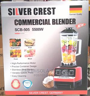 5500watts Silver Crest Blender   Kitchen Appliances for sale in Lagos State, Abule Egba