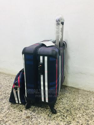 Cute Short Trolley Luggage Blue Bag | Bags for sale in Lagos State, Ikeja