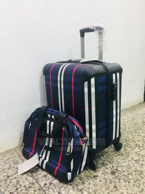 Nice Looking Trolley Short Luggage Blue Bag | Bags for sale in Lagos State, Ikeja