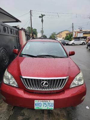 Lexus RX 2008 350 AWD Red | Cars for sale in Lagos State, Surulere