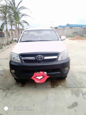 Toyota Hilux 2012 2.7 VVT-i 4X4 SRX White | Cars for sale in Ogun State, Ifo