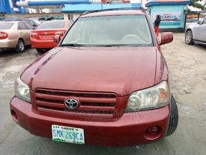 Toyota Highlander 2006 Red   Cars for sale in Rivers State, Port-Harcourt