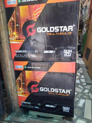 High Quality 220ahs 12v GOLDSTAR Tubular Indian Battery | Solar Energy for sale in Lagos State, Ojo