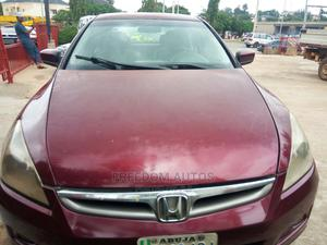 Honda Accord 2008 Red | Cars for sale in Abuja (FCT) State, Asokoro