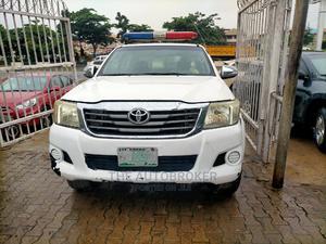 Toyota Hilux 2010 2.7 VVT-i 4X4 SRX White | Cars for sale in Lagos State, Magodo