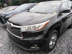 Toyota Highlander 2015 Black | Cars for sale in Lagos State, Gbagada