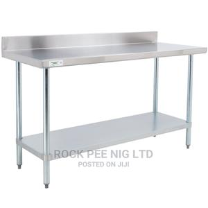 Strong Stainless Working Table 4 - 5ft | Restaurant & Catering Equipment for sale in Lagos State, Ojo