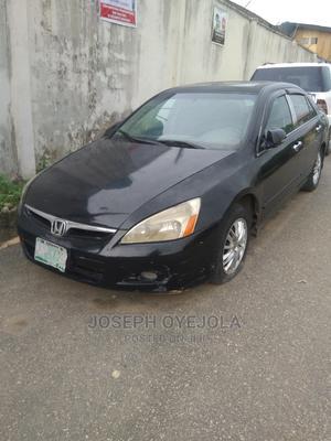 Honda Accord 2007 2.4 Type S Black | Cars for sale in Lagos State, Ejigbo