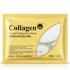 Beauty Crystal Collagen Eye Mask X5 | Skin Care for sale in Lagos State, Surulere