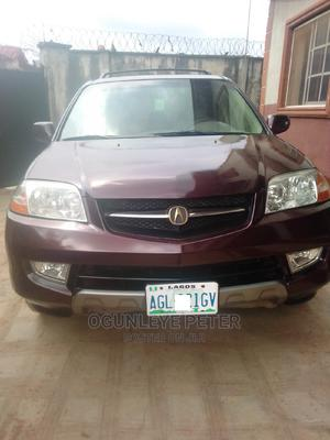 Acura MDX 2003 3.5L 4x4 Brown | Cars for sale in Lagos State, Alimosho