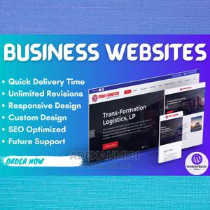 Professional Business Website   Computer & IT Services for sale in Lagos State, Ajah