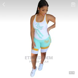 Letter Printed Vest, Two-Piece Casual Suit | Clothing for sale in Enugu State, Enugu