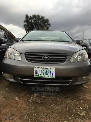 Toyota Corolla 2003 Sedan Gray | Cars for sale in Kaduna State, Kaduna / Kaduna State