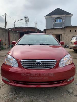 Toyota Corolla 2007 LE Red | Cars for sale in Lagos State, Isolo