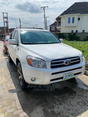 Toyota RAV4 2008 Limited V6 White | Cars for sale in Lagos State, Amuwo-Odofin
