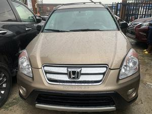 Honda CR-V 2004 Gold | Cars for sale in Lagos State, Surulere