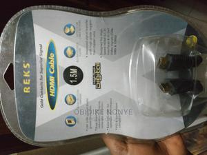 Reks HDMI Cable   Accessories & Supplies for Electronics for sale in Lagos State, Mushin