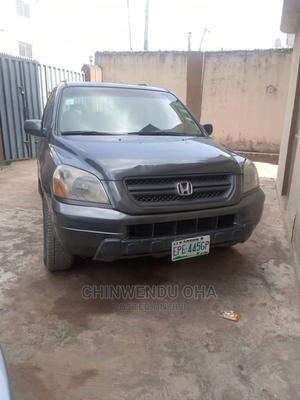 Honda Pilot 2004 Gray | Cars for sale in Lagos State, Ogba