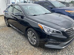 Hyundai Sonata 2015 Black | Cars for sale in Lagos State, Ikeja