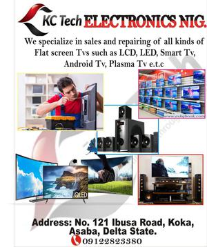 We Repairs And Fix All Types Of Flat Screens | Repair Services for sale in Delta State, Oshimili North