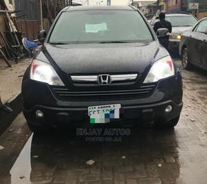 Honda CR-V 2008 2.4 EX-L 4x4 Automatic Black | Cars for sale in Lagos State, Surulere