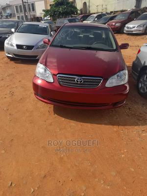 Toyota Corolla 2005 LE Red | Cars for sale in Lagos State, Oshodi