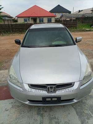 Honda Accord 2004 Sedan EX Silver | Cars for sale in Lagos State, Ikeja