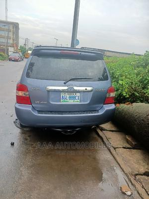 Toyota Highlander 2004 Limited V6 FWD Blue   Cars for sale in Lagos State, Surulere