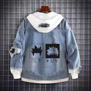 High Quality Men's Jean Jacket Hoodies | Clothing for sale in Lagos State, Alimosho